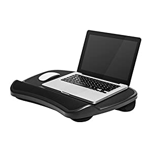 "LapGear XL Laptop Lap Desk, - Black (Fits up to 17.3"" Laptop)"
