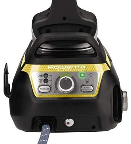 Centro de planchado - Rowenta Silence Steam Extreme DG8963F0, Suela Microsteam 400 3D, presión 7.3 bares, 470 g/min.