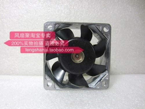 Original Sanyo 109L0612H408 6CM 6025 12V 0.11A 60 60 Aluminum frame ball cooling fan.