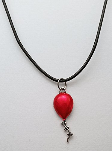 Red Balloon Stephen King's IT Inspired Necklace Ready to Ship!