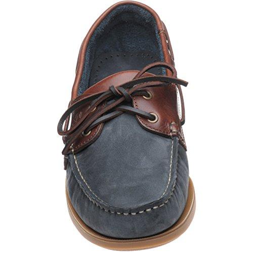 Hareng Padstow en bleu marine et brun clair