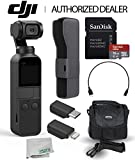 DJI Osmo Pocket Handheld 3 Axis Gimbal Stabilizer with Integrated Camera Must-Have Bundle For Sale