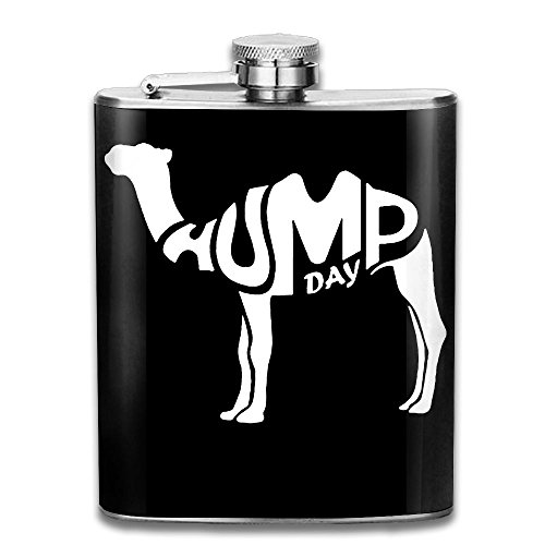 Hump Day 7 OZ Stainless Steel Leak-proof Wine Pot Liquor Hip Flask Flagon For Biking