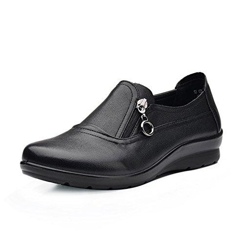 Otoño zapatos del ocio/Tamaño de con zapatos de suela suave/Zapatos de mamá A
