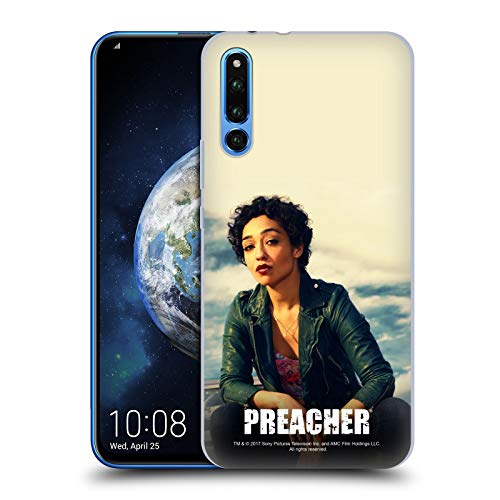 (Official Preacher Leather Jacket Tulip O'Hare Hard Back Case Compatible for Huawei Honor Magic 2)