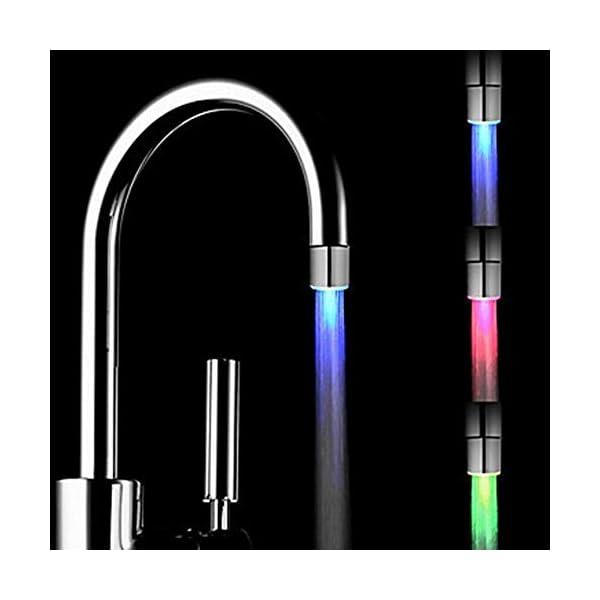 Paperllong-Magic-3color-RGB-Glow-LED-Luce-Rubinetto-Acqua-Sensore-di-Temperatura-Rubinetto-Controllato-con-Rubinetto-Deviatore-Valvola-Adattatore-Cambio-Colore