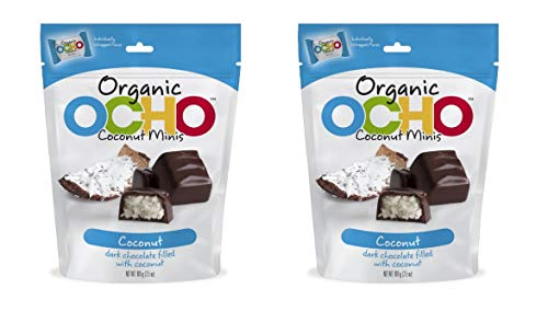 - Organic OCHO Chocolate Individually Wrapped Coconut Minis 3.5oz - Pack of 2