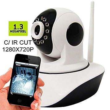 53f1e7fa4 Camera Ip 1.3 Mp Alta Resolução Hd 720 P2p Noturna Wireless Ip03+  ...