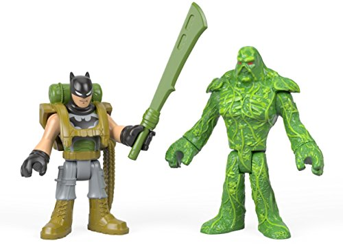 Fisher-Price Imaginext DC Super Friends, Batman & Swamp Thing