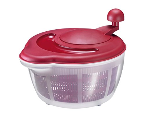Gadgets Salad Spinner (Westmark Germany Vegetable and Salad Spinner with Pouring Spout (Red))