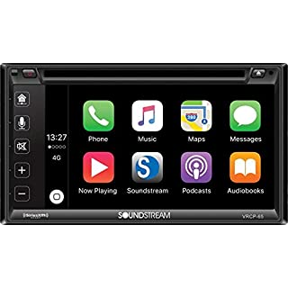 Discount Soundstream VRCP-65 6.2'' CD DVD Bluetooth iPhone Apple Car Play Sirius XM Stereo
