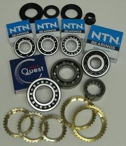 HONDA L3 S20 S40 K4F 4 & 5-SPEED MANUAL TRANSMISSION REBUILD KIT WITH SYNCHRO RINGS FITS '88-'00 CIVIC, DEL SOL, & CRX