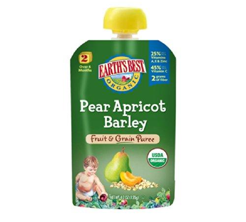 Earths Best Organic Apricot Barley