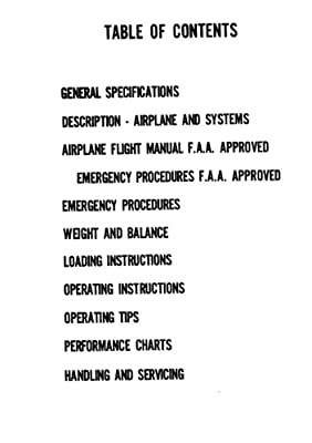 Piper Cherokee Warrior PA-28-151 Information Manual