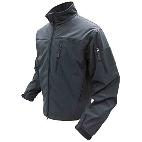 Condor Phantom Soft Shell Jacket (Black, Large) ()
