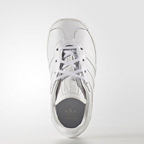 Adidas Gazelle I–Chaussures deportivaspara enfants, Blanc–(Ftwbla/Ftwbla/Ftwbla), -25