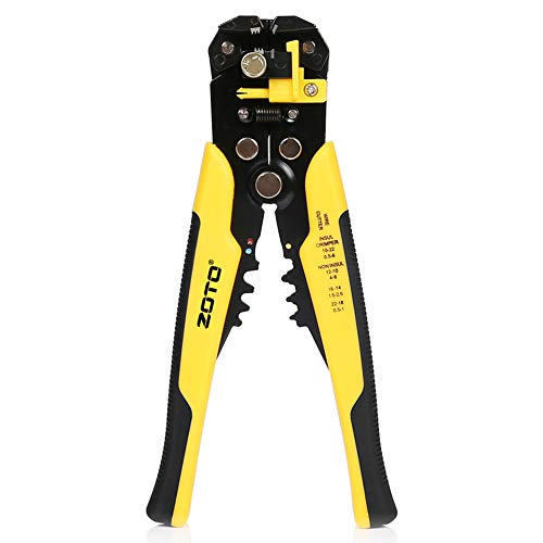 Wire Stripper Plier,ZOTO 5 in 1 Multifunctional Cable Cutter,Self-Adjusting...