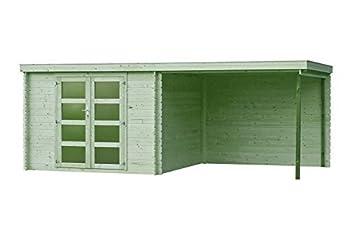 Fonteyn Jardín Caseta/Bloque Vera tejado Plano 560 x 300 cm Alta presión presión: Amazon.es: Jardín