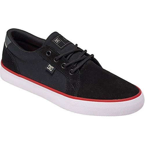 DC Young Men-Rat S Low Top Schuhe, EUR: 47, Black/White/Red