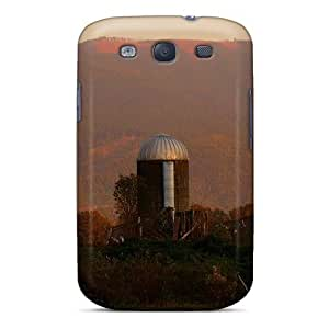 Dana Lindsey Mendez Galaxy S3 Well-designed Hard Case Cover Sunset Farm Protector