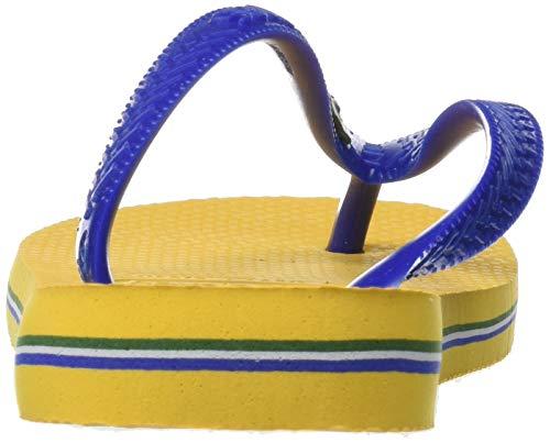 banana Yellow 1652 Unisex Logo Brasil Infradito Havaianas Giallo Adulto WaHvwqYRO