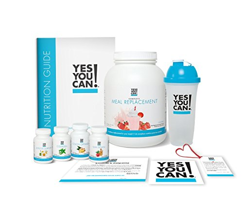 Amazon.com: Yes You Can! Transform Kit: On-The-Go 30 Servings, Once a Day, Contains: One Complete Meal Replacement Strawberry, One Slim Down, One Appetite ...