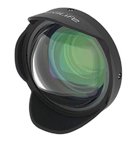 (SeaLife SL050 0.5X Wide Angle Dome Lens with 52mm DC Adapter Ring for DC2000 & DC1400 Digital Cameras)