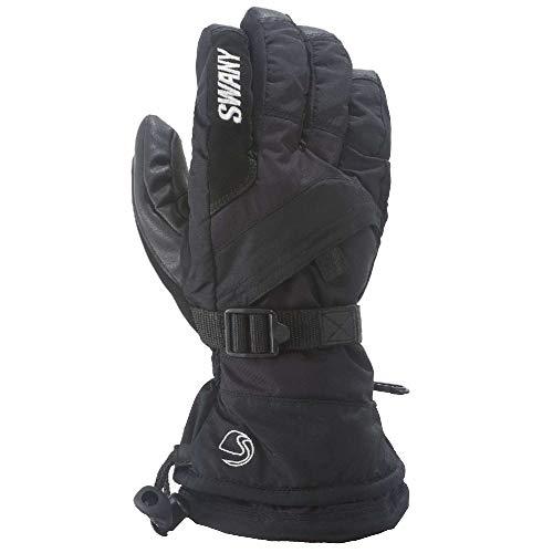 (Swany X-Over Junior Gloves, Black,)