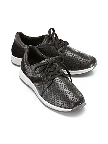 Avena Damen Hallux-Sneaker 180 Grad Schwarz Gr. 42