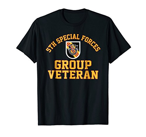 5th Special Forces Group SFG Veteran Shirt