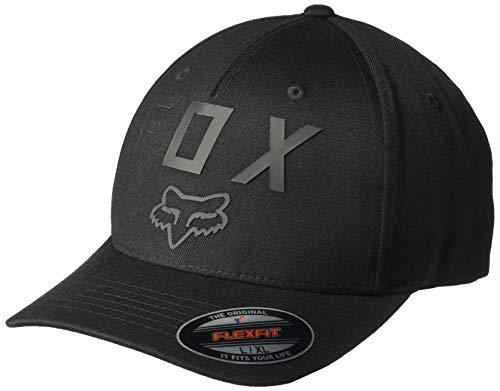 Fox Men's Number 2 Flexfit HAT, Black, L/XL