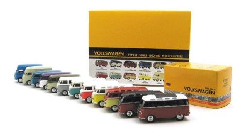 1/56 Volkswagen type-II 1952 PANELVAN Barndoor(パープル×ホワイト) 「1950-1967 VOLKSWAGEN」 VWT-68101