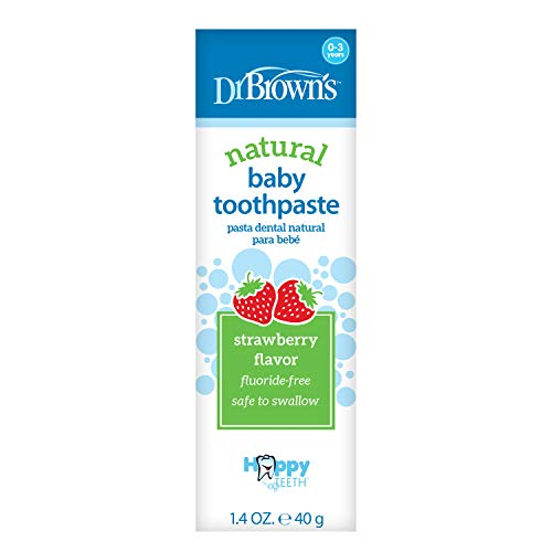 41yShLe6QJL - Dr. Brown's Baby Toothpaste
