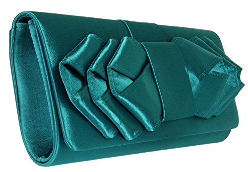 Verde Para 10 D Girly Cartera 25 Cm 11 H Mano 5 W De Mujer 4 w 2 Inches Handbags 5 RwI0wH