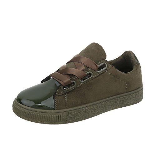 Plano Olive Mujer Bajas Zapatillas Para Ra1041 Zapatillas Design Ital Zapatos qXPSw