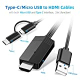 2 in1 USB Type C Micro USB to HDMI Cable MayLowen