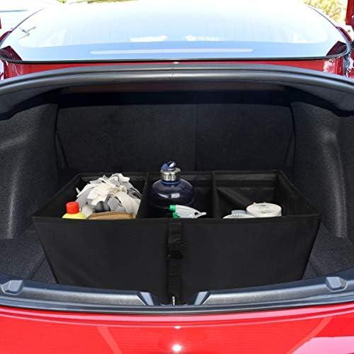 Model 3 Sub Kofferraum Organisator Automatisch Haltbarer Zusammenklappbarer Frachtraum Für Tesla Model 3 Auto