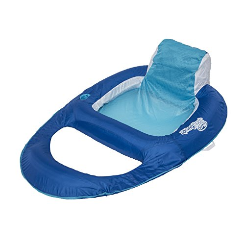Swimways Spring Float Recliner 13018 - Colors Vary ()
