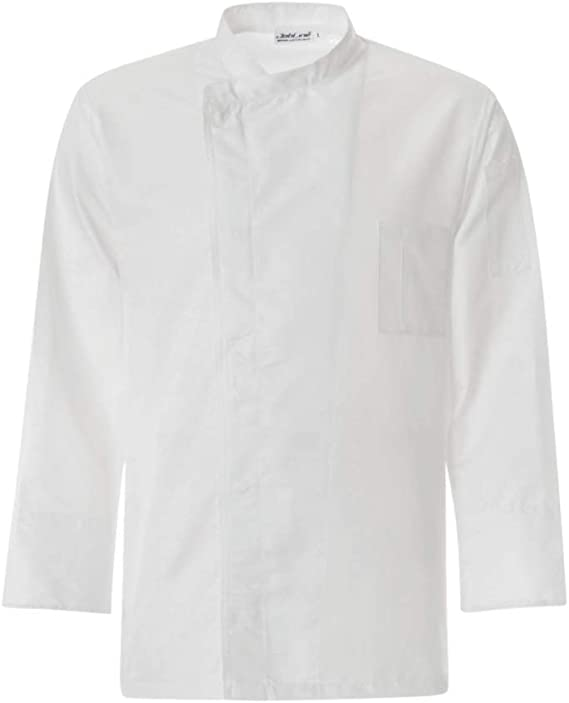 XS Bianco TG 4XL JOBLINE Giacca Cuoco MICROCLIP col