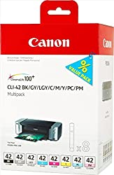 Image of the product Canon   CLI 42 8 Pack   that is listed on the catalogue brand of Canon. The product has been rated with a 4.8 over 5