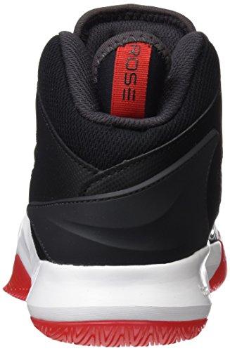 adidas Herren D Rose Dominate IV Basketballschuhe Schwarz (Negbas/neguti/ftwbla)