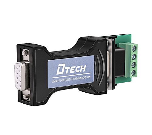 - DTECH Port-Powered RS232 to RS485 Converter Adapter for Industrial Long Haul Serial Communication Supports 600W Anti-surge and 15KV Static Protection