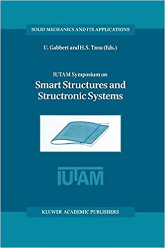 IUTAM Symposium on Smart Structures and Structronic Systems: Proceedings of the IUTAM Symposium held in Magdeburg, Germany, 26-29 September 2000 (Solid Mechanics and Its Applications)