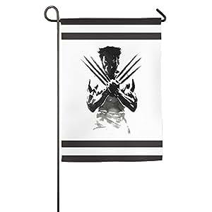 X hombre cartucho de casa bandera bandera de Jardín