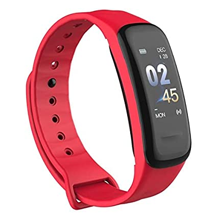 WEARFIT Fitness Tracker Watch Bluetooth Smart Band Sleep Monitor Wristband  Pedometer Call Remind Wearable Smart Bracelet OLED Touch for Android iOS