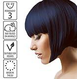 Black Sapphire Hair Dye   Permanent blue black hair