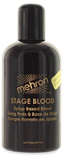 Mehron Makeup Mehron Makeup Stage Blood, DARK VENOUS for Special Effects| Halloween| Movies- 9oz
