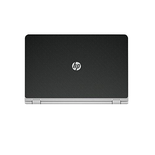 Black Carbon Fiber skin decal wrap skin Case for HP ENVY x360 m6 series m6-w101dx m6-w102dx m6-103dx m6-105dx 15.6'' laptop by GADFLY (Image #1)