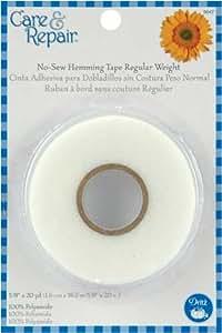 Dritz(R) No Sew Hemming Tape Reg Wt- 5/8 Inch W x 20yds