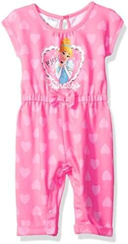 Disney Baby Girls' Cinderella Romper